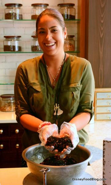 Teasmith at Joffrey's Tea Traders Cafe