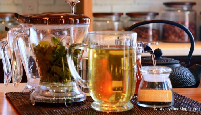 Citrus Sorbet Tea