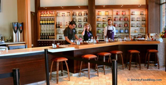 Inside Tea Traders Cafe