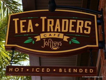 Tea Traders Cafe Sign