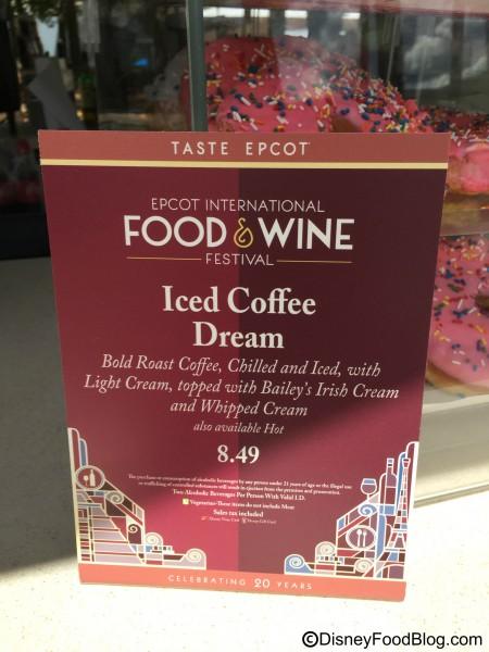 Test Track Coffee Cart Drinks