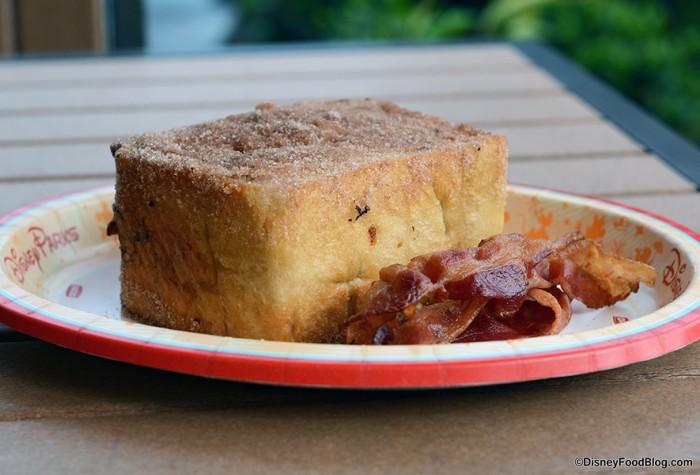 Tonga Toast with Bacon