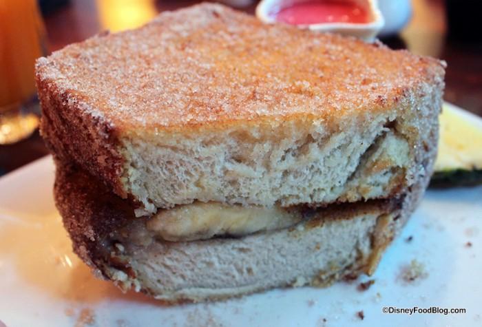 Close up on Tonga Toast