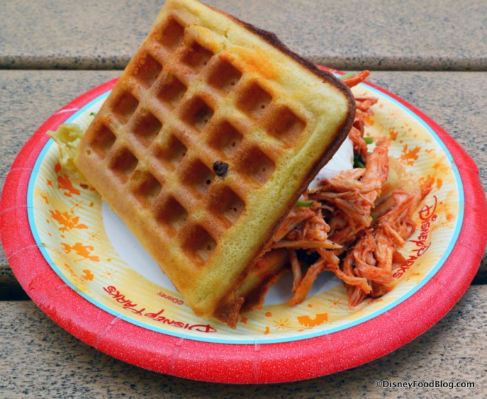 Pulled Buffalo Waffle Slider