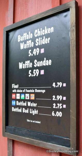 Trilo-Bites menu