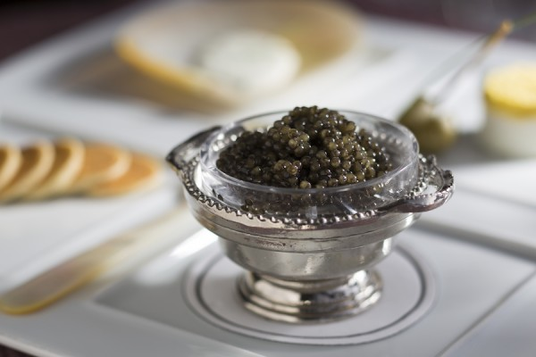 Caviar at Victoria and Albert's
