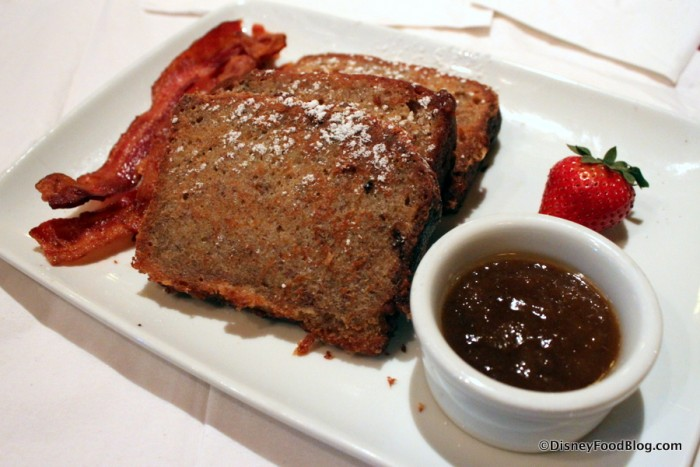 House-Made Banana Bread French Toast