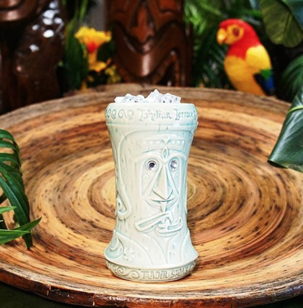 Diamond Tiki Glass ©Trader Sam's Enchanted Tiki Bar