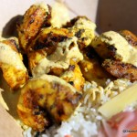 Review: Tandoori Shrimp at the Namaste Cafe Disney Food Truck