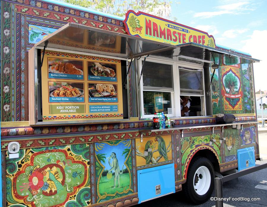 Namaste Cafe Food Truck The Disney Food Blog