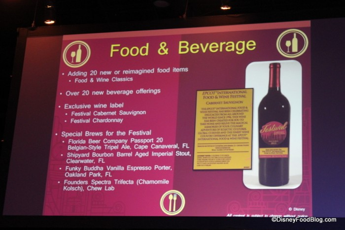 Festival Exclusive Wines Return in 2016