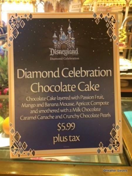 Diamond Celebration Chocolate Cake Description