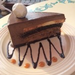 Dining in Disneyland: Diamond Celebration Chocolate Cake from Plaza Inn