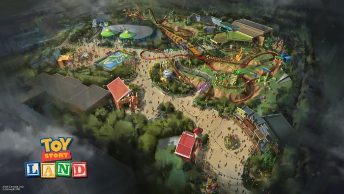 Toy Story Land Concept ©Disney