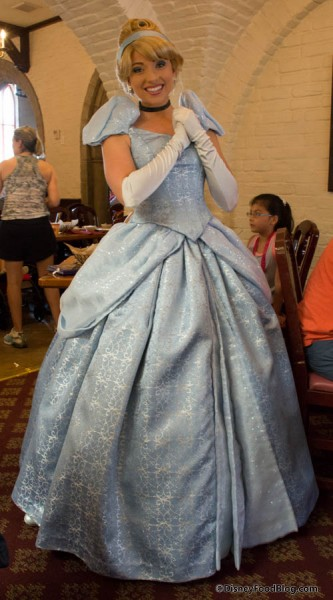 Princess Cinderella at Akershus in Epcot's Norway