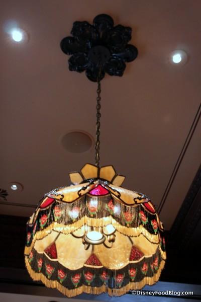 Tiffany Lamp Overhead