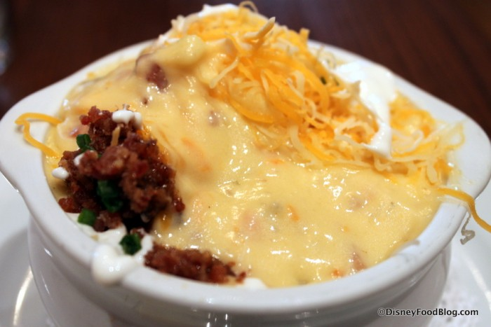 Baked Potato Soup -- Up Close