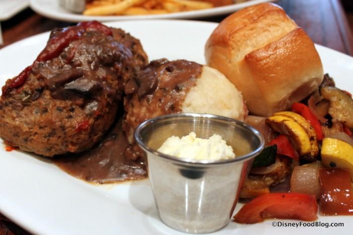 Homemade Meatloaf -- Up Close