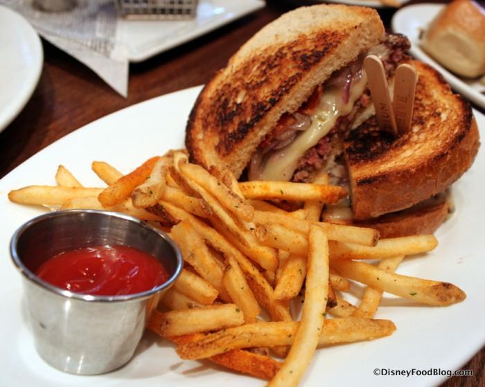 Sourdough Bacon Cheese Melt