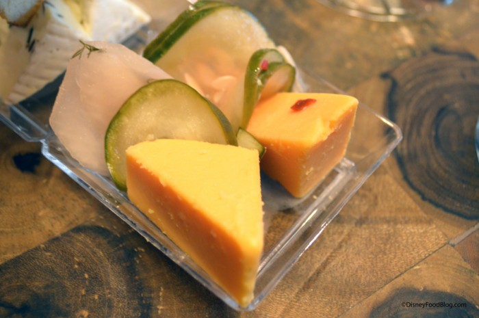 Cheddar and Pickles