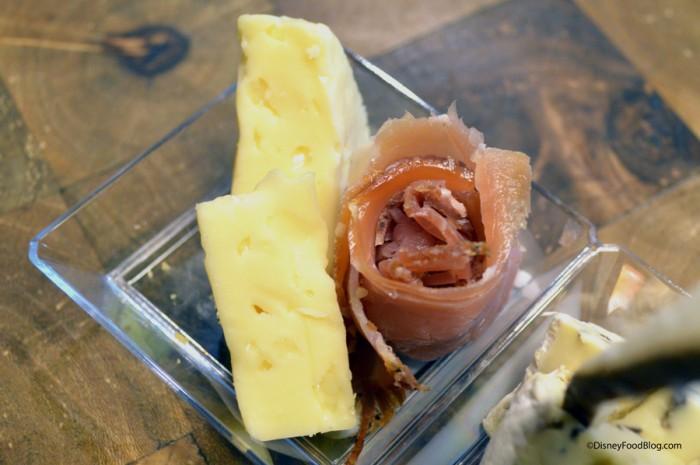 Muenster and Smoked Alpine Ham