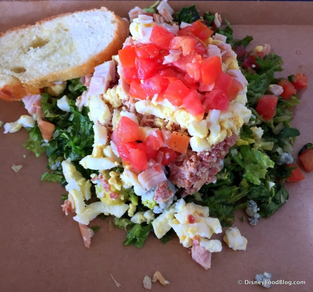 Cobb Salad From Hollywood Brown Derby -- Up Close