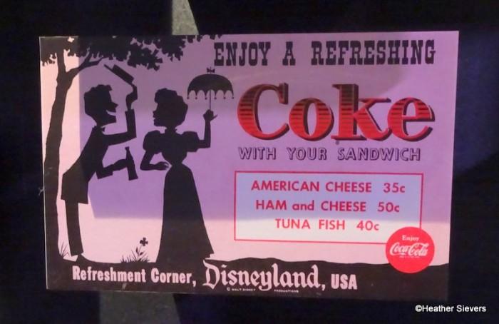 Coca Cola Refreshment Corner Menu