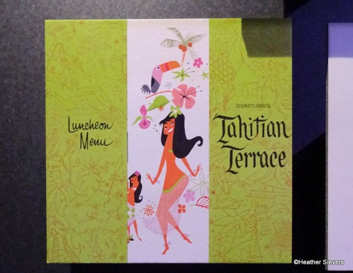 Tahitian Terrace Luncheon Menu