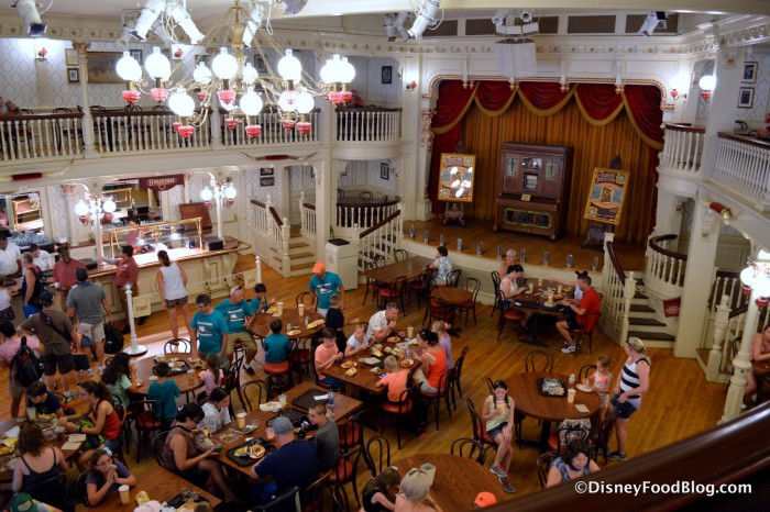 Diamond Horseshoe Seating and Stage