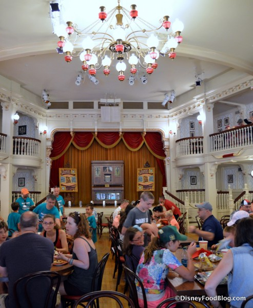 Diamond Horseshoe Main Floor