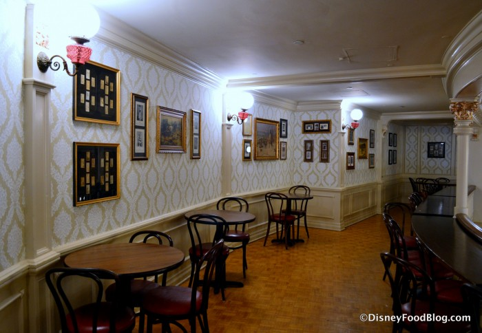 Diamond Horseshoe Upstairs