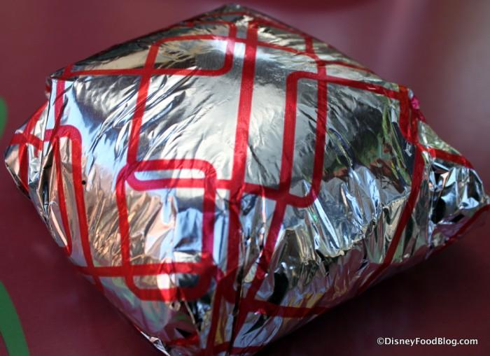 Pastrami Cheeseburger -- In the Wrap