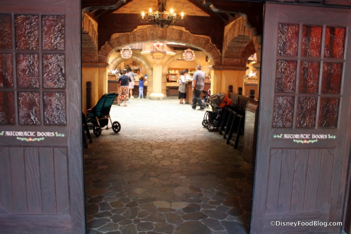 Entrance and Ordering Area