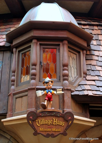 Pinocchio Detail Outside