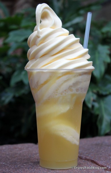 Dole Whip Float at Aloha Isle
