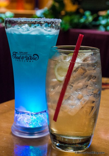 Blue Glow-tini and