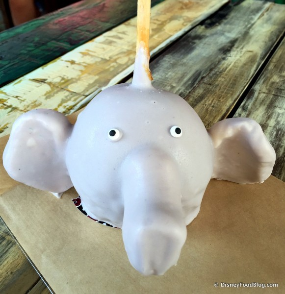 Elephant Caramel Apple