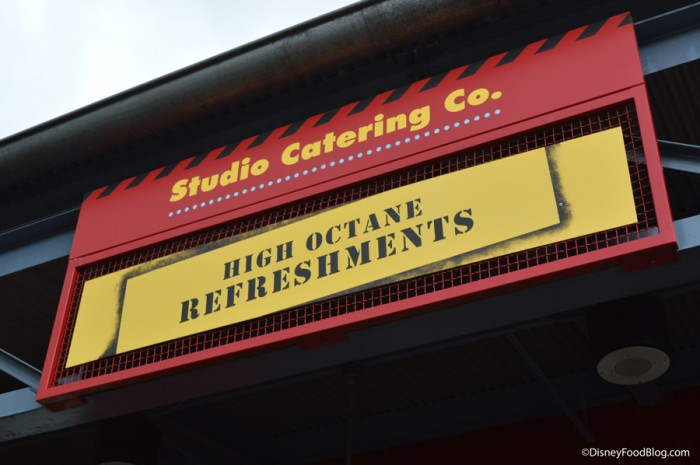 High Octane Bar at Studio Catering Company