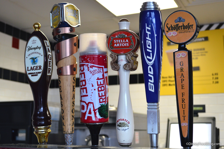 Beer Options at High Octane