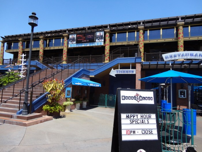 The House of Blues at Disneyland's Downtown Disney District