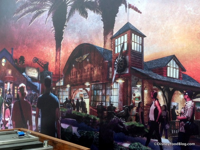 Concept Art for Jock Lindey's Hangar Bar