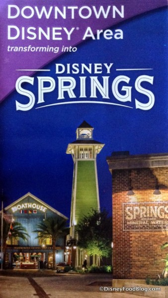 Downtown Disney Map
