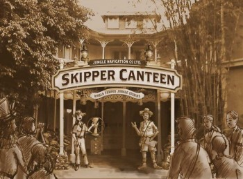 Jungle Cruise Skipper Canteen Concept Art ©Disney