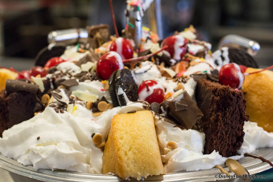 Man Vs Food Kitchen Sink Challenge Onthelist the kitchen sink sundae and chocolate lovers kitchen the kitchen sink toppings workwithnaturefo