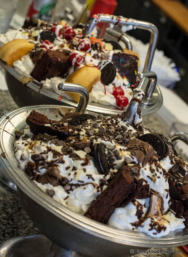 Man Vs Food Kitchen Sink Challenge Onthelist the kitchen sink sundae and chocolate lovers kitchen the original and chocolate lovers kitchen sinks workwithnaturefo
