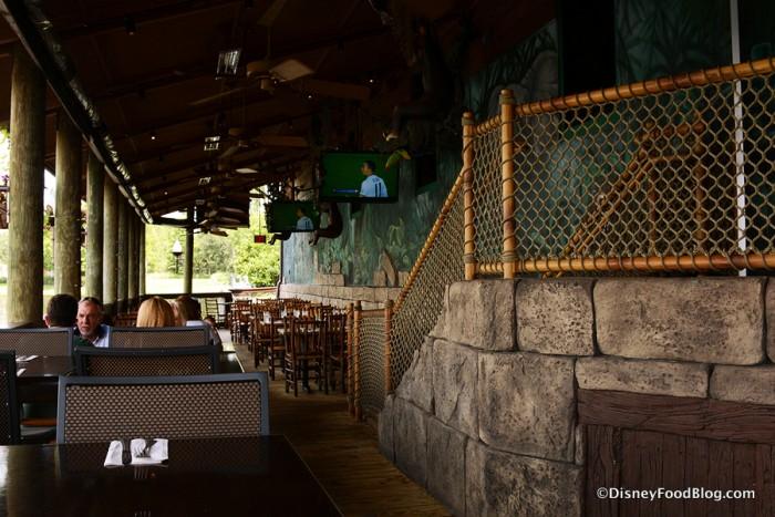 Lava Lounge setup