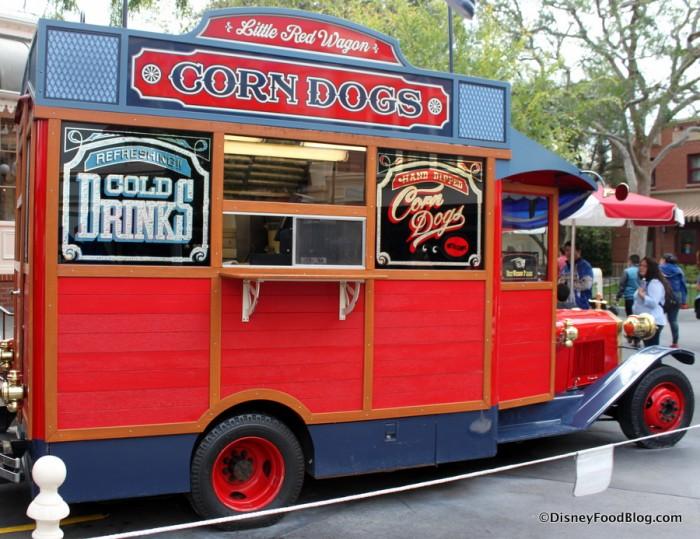 Disneyland's Little Red Wagon