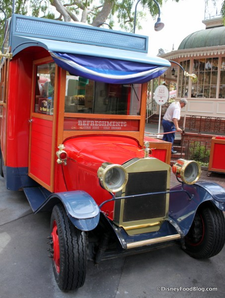 Little Red Wagon Corn Dog Cart Front