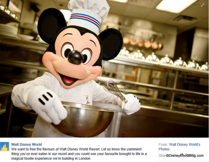 Disney Foodie Experience in London