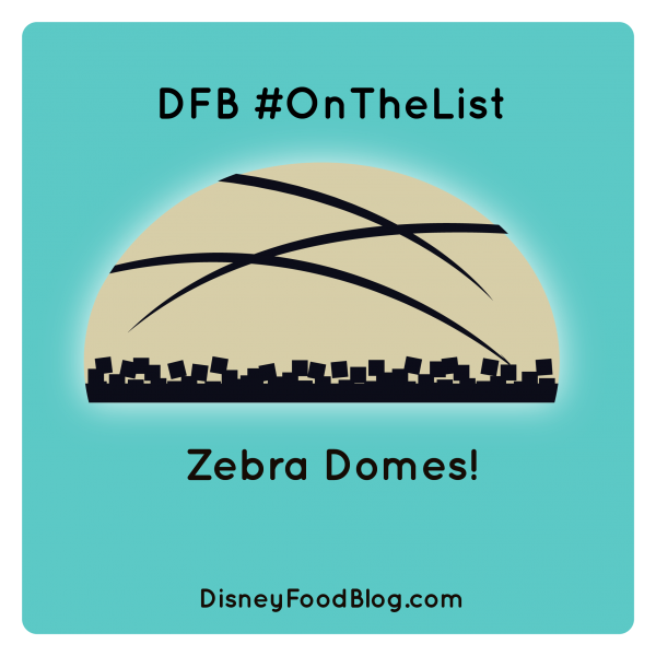 Zebra Domes are #OnTheList